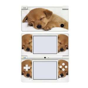 Nintendo DSi Skin   Sleeping Puppy