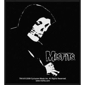 Misfits Fiend Profile Official Woven Rock Music Band Badge