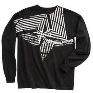 Pinwheel Long Sleeve Tee Shirt by Polaris OEM. 2861113: Automotive