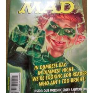 Mad #510 August 2011 Green Lantern Spoof Various Books
