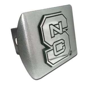 Carolina State University Wolfpack Brushed Silver with Chrome NCS