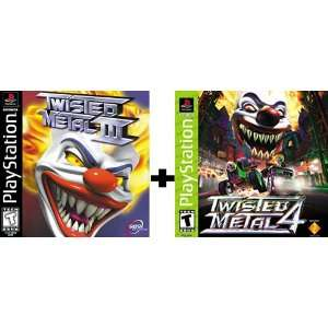 Twisted Metal III / Twisted Metal 4 Video Games
