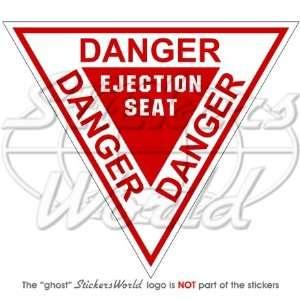 DANGER EJECTION SEAT USAF Martin Baker 4,7 (120mm) Vinyl