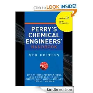 PERRYS CHEMICAL ENGINEERS HANDBOOK 8/E SECTION 22 WASTE MANAGEMENT