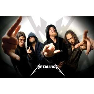 Metallica Hoodies Heavy Metal Rock Music Poster 24 x 36