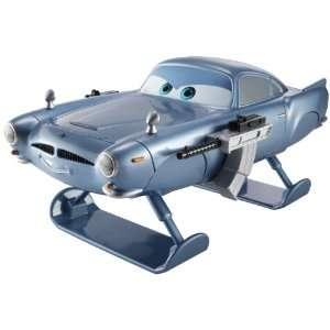 Disney Pixar Cars 2 Gear Up And Go Finn McMissile Vehicle
