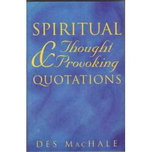 Spiritual & Thought Provoking Quotations (9781856351690