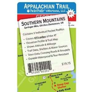 Appalachian Trail Pocket Profile   Southern Mountains Set