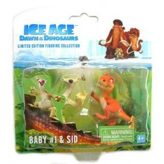 Ice Age 3 Dawn of the Dinosaurs   Baby 1 & Sid Figure Set