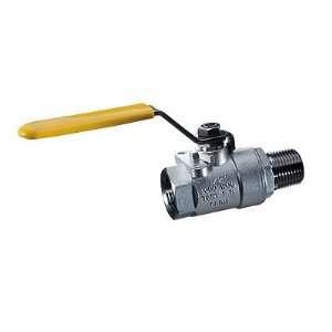 NP sainless seel female/male manual ball valve