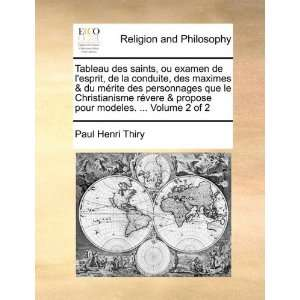 of 2 (French Edition) (9781171094180): Paul Henri Thiry: Books
