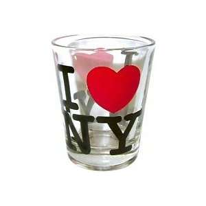 com I Love New York Shot Glass, New York Shot Glasses, New York City