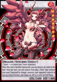 Akiza Yugioh Orica ~ Black Rose Dragon ~