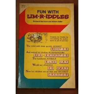Fun with Lim R Iddles Richard Harrison, Albert Adler Books