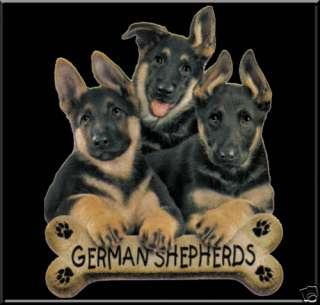German Shepherd Puppies w/Bone T Shirt S,M,L,XL,2X,3X