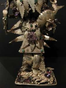 Silver Kachina Doll Native American Art Jerry Blocker