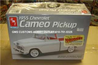 AMT/ERTL Plastic Model Kit # 6053 1955 Chevrolet CAMEO Pickup Truck 1