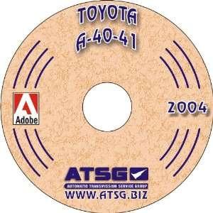 Rebuild Manual (Mini CD) Automatic Transmission Service Group Books