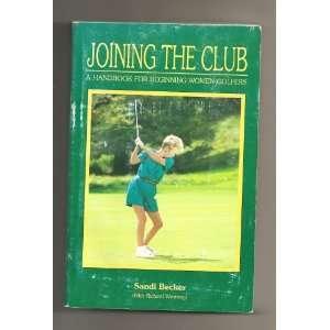 Golfers Sandi Becker (with Richard Westring), Alvin Blick Books