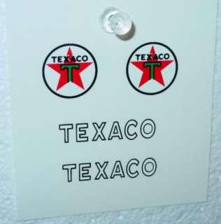 Nylint Texaco Ford Econoline Van Decal Set NY 051