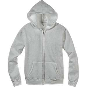 NWT WOMENS GRAY ZIP FRONT HOODIE JACKET S SMALL