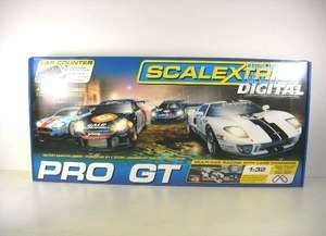 Scalextric 132 Pro GT Slot Car Set with 4 Cars C1260T