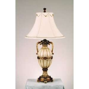AF Lighting 4782 TL Golden Ivory DIANA Tuscan Single Light Up Lighting