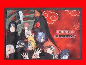 Naruto Shippuden akatsuki Madara Zetsu Pain Playmat