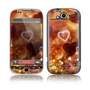 Love Love Love Decorative Skin Cover Decal Sticker for HTC My Touch 4G