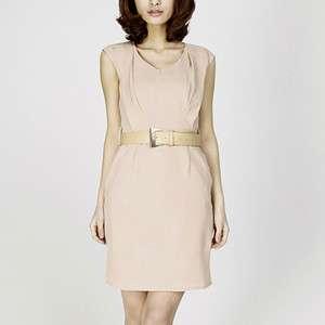 Clothing 2012 ZARA Elegant Beauty New Women With Belt Dress Tops