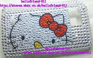 Hello kitty Bling Full Case Cover For Motorola Droid Bionic XT875 #8