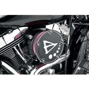 Arlen Ness Big Sucker Derby Cover Air Filter Kit   Black