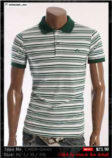 Doublju1 Mens Short sleeve polo shirts Collection