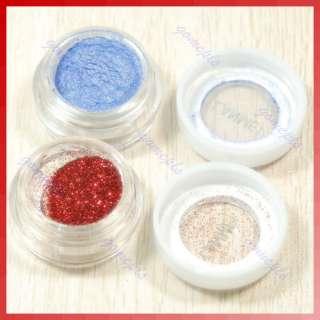 40Color Glitte Shimmer Pigment Mineral Eyeshadow Makeup