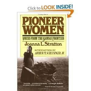 Frontier (9780671447489) Joanna Stratton, Arthur M Schlesinger Books