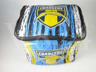 NFL San Diego CHARGERS Ice Chest Lunch Box Cooler Bag