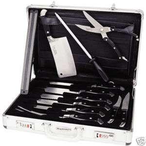 Ergonomic Knife Set w/Travel Case   12 Piece 845033063253
