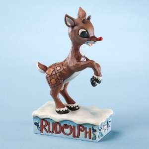 Jim Shore   Rudolph   Rudolph Learning to Fly Home & Kitchen