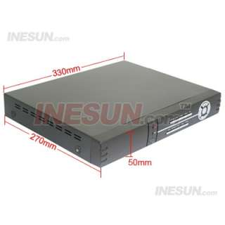 CCTV 4CH H.264 Real Time Network 120FPS Recording DVR Support PTZ