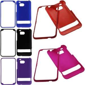 (Black + Hot Pink + Blue + Red + Purple) for Verizon HTC ThunderBolt