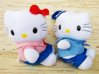pcs Hello Kitty navy cloth beautiful PLUSH toy cute NEW 7