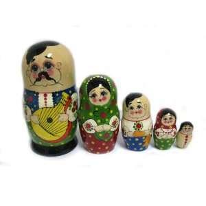 Doll   Wooden Traditional Matryoshka Bandura Everything Else