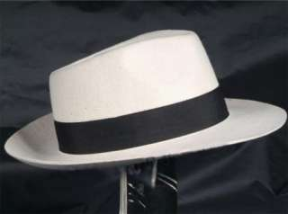 Michael Jackson Smooth Criminal Wool hat MJ black or white 100% wool