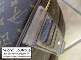 Authentic LOUIS VUITTON Monogram Pegase 55 Rolling Suitcase Luggage