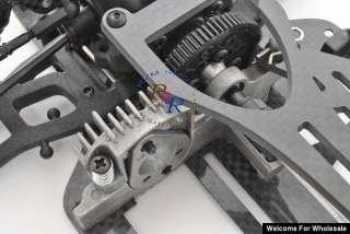 10 RC EP YOKOMO D1 Drift Car Carbon Fiber Chassis (Sh