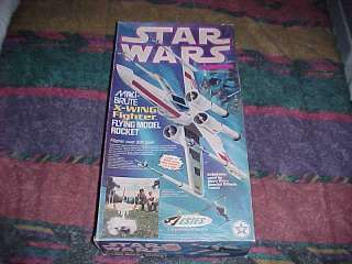 1977 STAR WARS GIANT MAXI BRUTE X WING FIGHTER ESTES FLYING MODEL