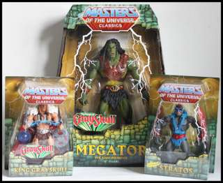 He Man Masters of the Universe MOTU Classics KING GRAYSKULL STRATOS