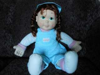 1989 PLAYSKOOL MY BUDDY KID SISTER DOLL RED HAIR NICE