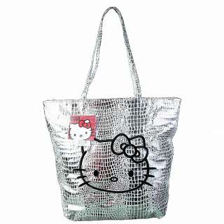 Sanrio Hello Kitty Bag Two Faced Faux Python Shopper Tote