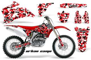 AMR RACING OFF ROAD DIRT BIKE GRAPHIC MX DECAL KIT YAMAHA YZ 250/450 F